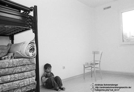 Asylbewerber Kind