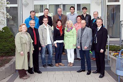 KandidatenInnen der SPD-Kronau für die Gemeinderatswahl