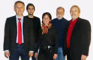 v.l. T. Weber, S. Sattler, H. Rösch, R, Acker, B. Homann